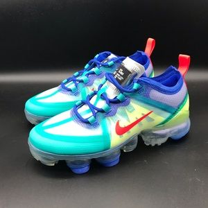 Nike Air VaporMax 2019 (GS) Size 4Y Racer Blue